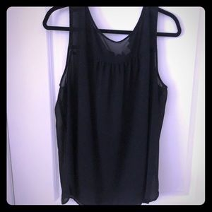 Black dressy tank! Perfect for summer!